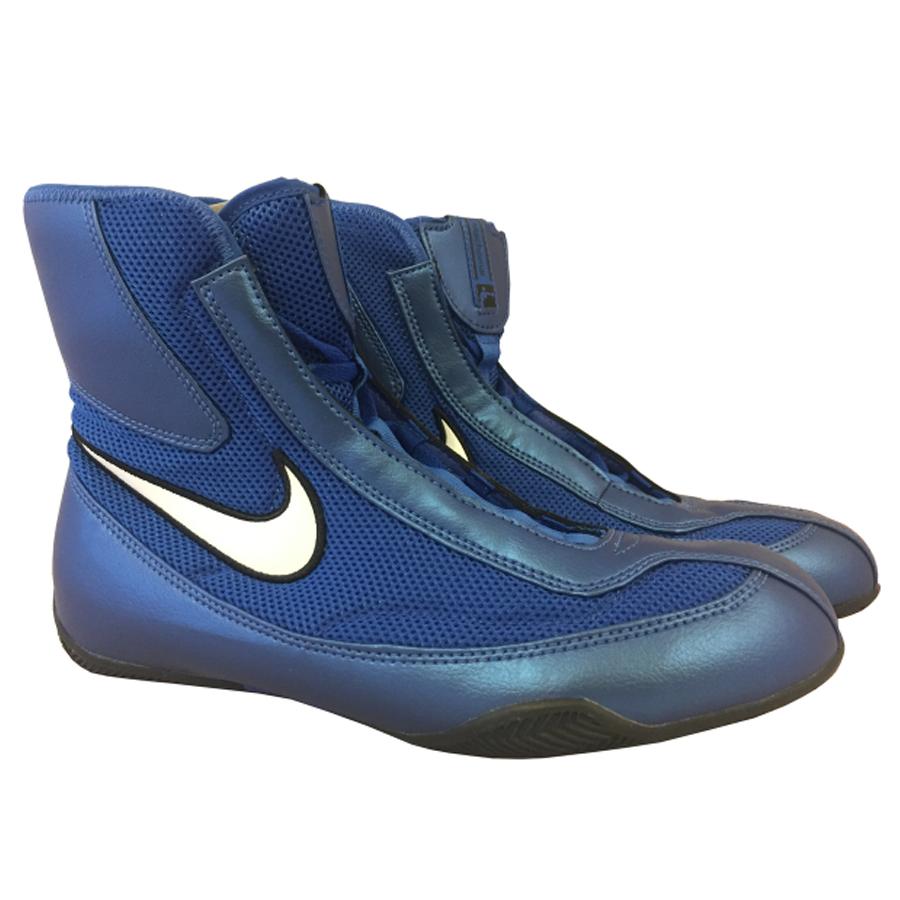 a67a24fa930 Boxerské boty NIKE Machomai Mid