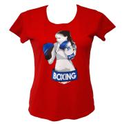 T-shirt BAIL BOXING (woman), Cotton