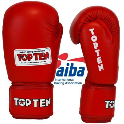 Boxing gloves TOP TEN - AIBA, Leather