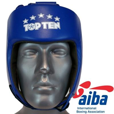 Head guard TOP TEN - AIBA, Leather