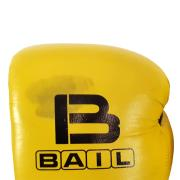 Boxing gloves BAIL-YELLOW 12 oz, Leather