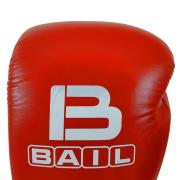 Boxing gloves BAIL-RED 12 oz, Leather