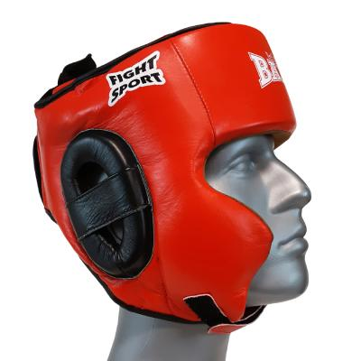 Head guard SPARRING, leather