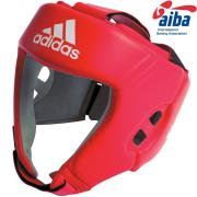 Red head guard ADIDAS AIBA, Leather