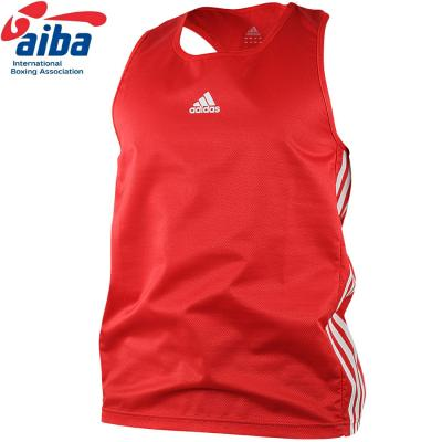 Blue boxing vest ADIDAS, Polyester