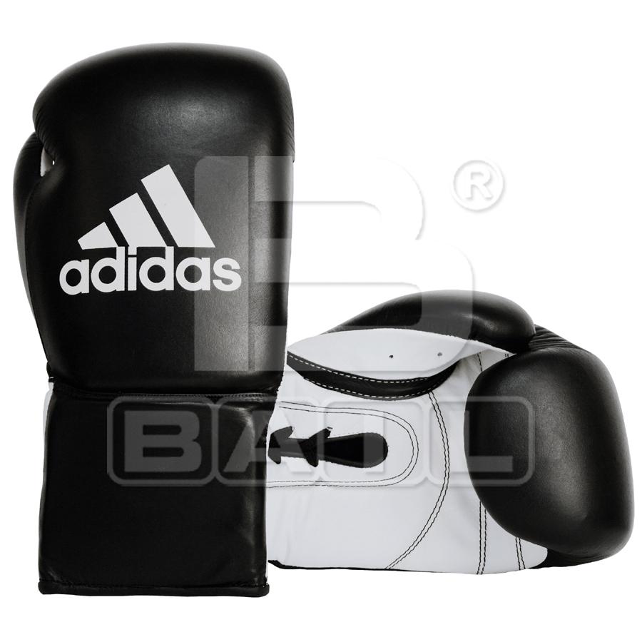 7f222d736 Černé boxerské rukavice Adidas KOMBAT 8 oz, Kůže - ADIDAS BOXING ...