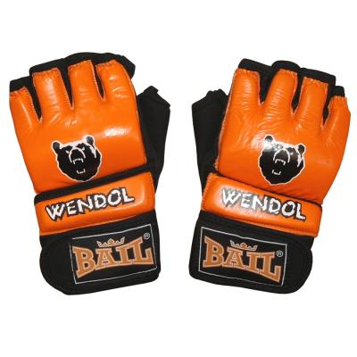 MMA gloves BAIL WENDOL, Leather