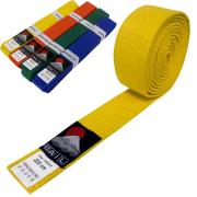 Judo belt YELLOW, Cotton
