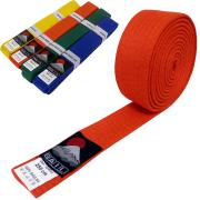 Judo belt ORANGE, Cotton
