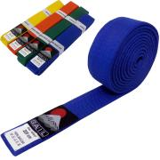 Judo belt BLUE, Cotton