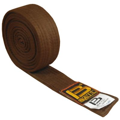 Judo belt BROWN, cotton