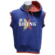 Vest with hoody TRAINING, Cotton