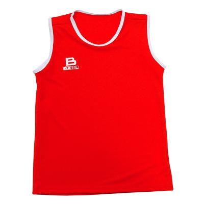 Red box vest (woman), Polyester